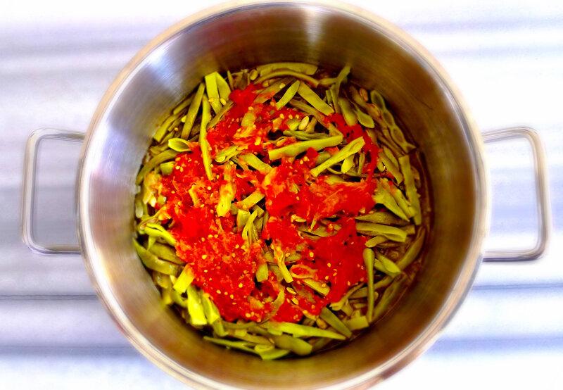 Refika'dan zeytinyağlı fasulye tarifleri