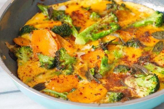 brokoli-balkabakli-yumurta